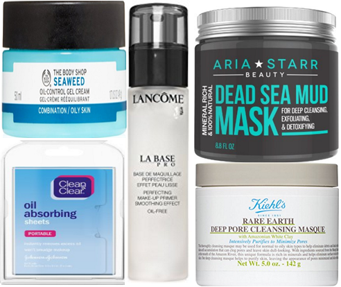 Top 10 products for oily skin
