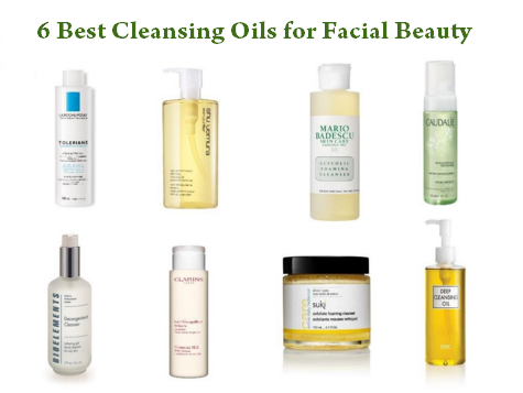 6 Best Cleansing Oils for Facial Beauty