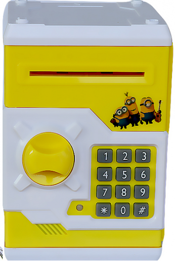 Minions Baby Atm Machine Coin Deposit Box