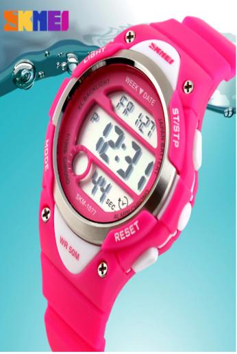 SKMEI Outdoor Sports Kids Watches Boy Alarm Digital Watch Children Stopwatch Waterproof Girls Wristwatches