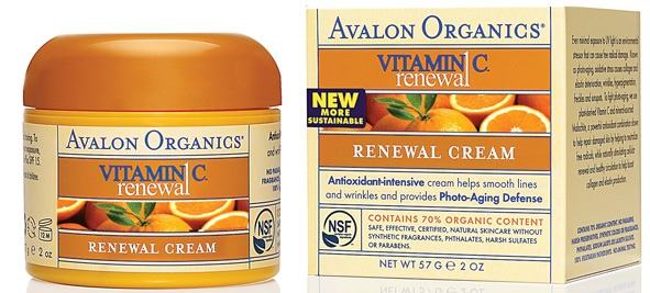 Avalon Organics Vitamin C Facial Cream