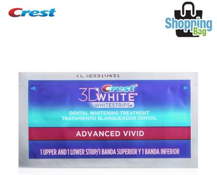 Crest 3D White Whitestrips Advanced Vivid