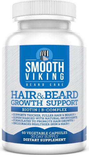 Hair and Beard Growth Support