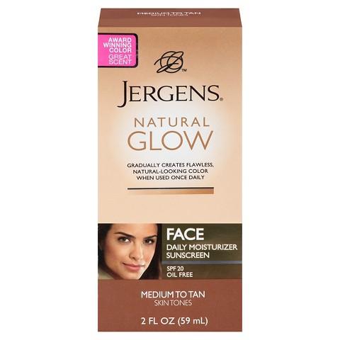 Jergens Glow Face Daily Moisturizer