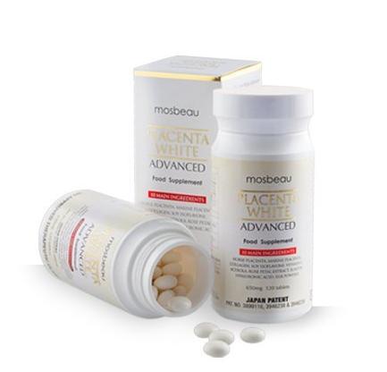 Mosbeau Placenta White Advanced Skin Whitening Tablets
