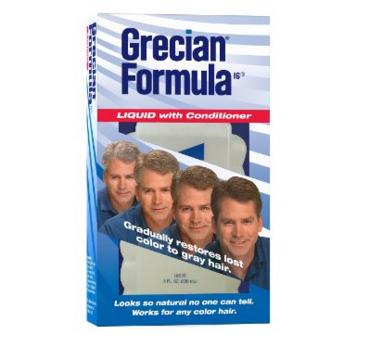 Grecian Formula Hair Color with Conditioner, Liquid, 8 Ounce