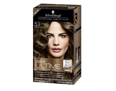 Schwarzkopf Ultime Hair Color Cream, 5.1 Capuccino Brown, 2.03 Ounce