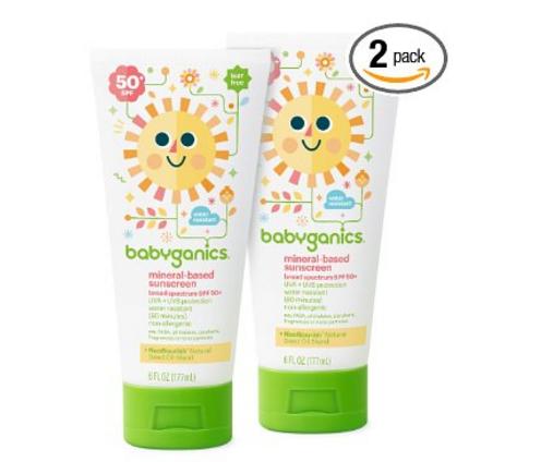 Babyganics Mineral Based Baby Sunscreen Lotion SPF50