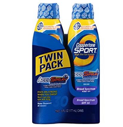 Coppertone Sport Sunscreen Continuous Spray