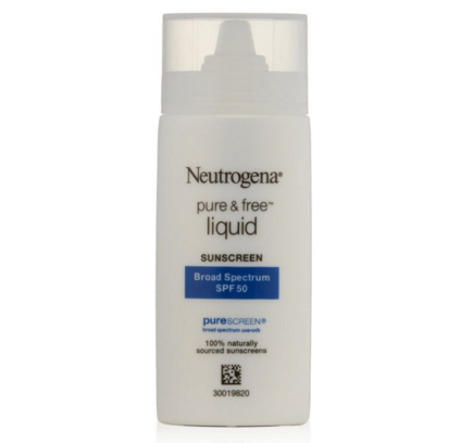 Neutrogena Pure & Free Liquid Sunscreen SPF 50