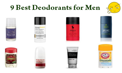 9 Best Deodorants for Men