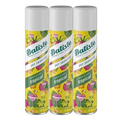 Dry Shampoo for smooth hair