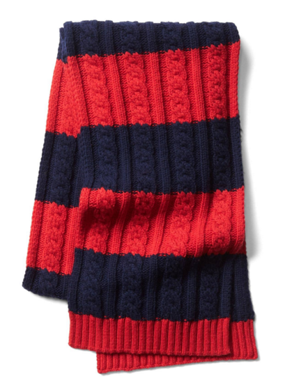 Gap Merino Striped Scarf