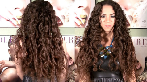Get naturally wavy hair with braids
