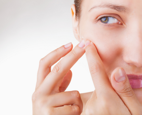 Pop out the pimples the smart way