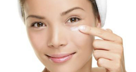 Reduce eye puff with water