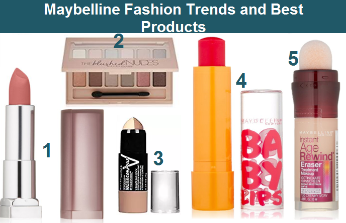 Maybelline Makeup Products Available In