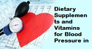 Dietary Supplements and Vitamins for Blood Pressure in Pakistan