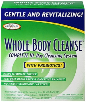 Enzymatic Therapy Whole Body Cleanse Kit with Probiotics