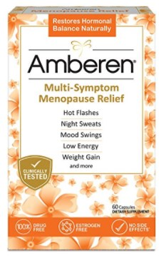 Amberen Multi Symptom Menopause Relief Supplement