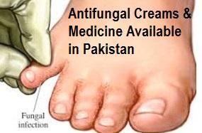 Antifungal Creams & Medicine Available in Pakistan