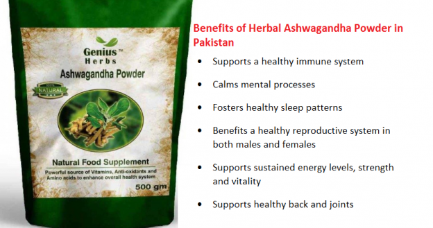 Benefits of Herbal Ashwagandha Powder in Pakistan