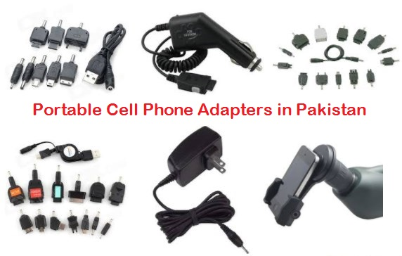 Portable Cell Phone Adapters in Pakistan