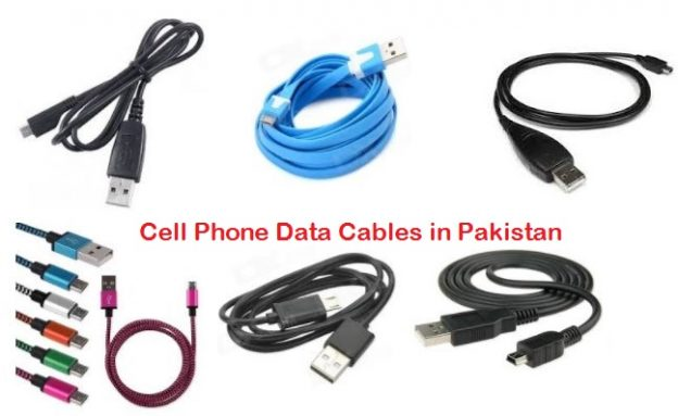 Cell Phone Data Cables in Pakistan