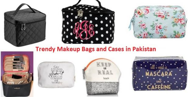 Trendy Makeup Bags and Cases in Pakistan
