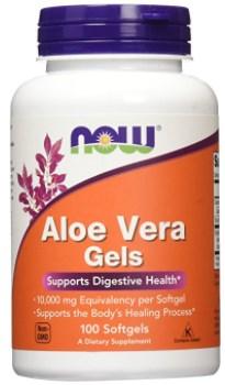 NOW Aloe Vera Gels, 10000mg