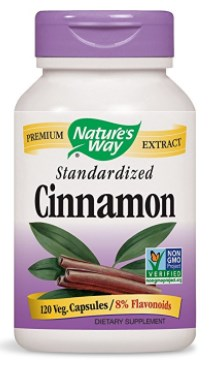 Nature's Way Cinnamon, 120 Vcaps