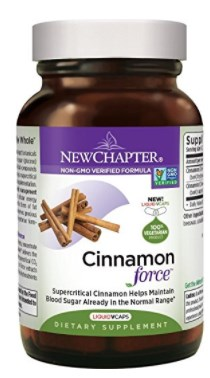 New Chapter Cinnamon Supplement
