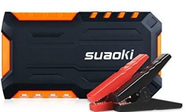 Suaoki G7 600A Peak 18000mAh Portable Jump Starter