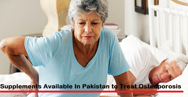 Supplements Available In Pakistan to Treat Osteoporosis