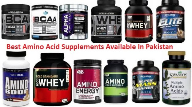 Best Amino Acid Protein Supplements Available In Pakistan