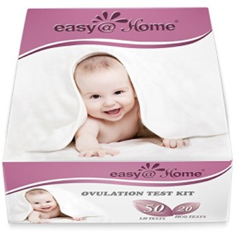 Easy@Home 50 Ovulation Test Strips and 20 Pregnancy Test Strips Combo Kit