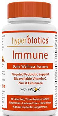 Hyperbiotics Daily Immune & Wellness Formula