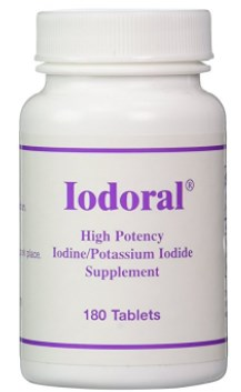 Iodoral, High Potency Iodine Potassium Iodide Thyroid Support Supplement