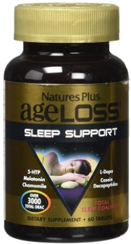 Nature's Plus Ageloss Sleep Support Tablets