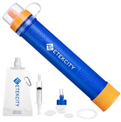 Portable Water Filter Filtration Straw Purifier