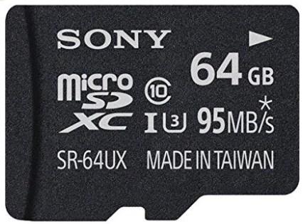 Sony 64GB High Speed Class 10