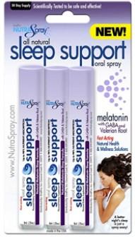 Fast Acting Sleep Support Sleep Aid with Melatonin