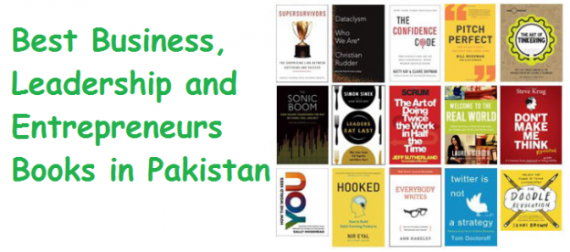 Best Business, Leadership and Entrepreneurs Books in Pakistan