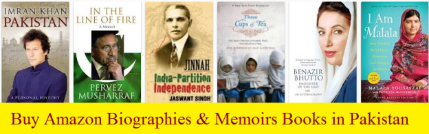 Buy Amazon Biographies & Memoirs Books in Pakistan