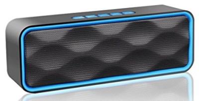 Wireless Bluetooth Speaker, ZOEE S1 Outdoor Portable Stereo Speaker