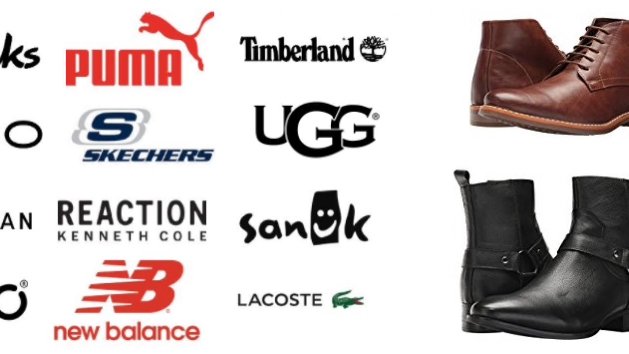famous casual shoe brands