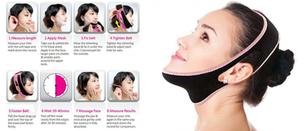 5 Best Face Slimming Masks Available In Pakistan