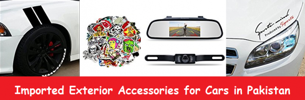 Imported Exterior Accessories for Cars in Pakistan