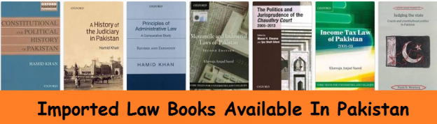 Imported Law Books Available In Pakistan