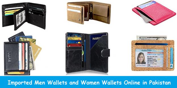 Imported Men Wallets and Women Wallets Online in Pakistan